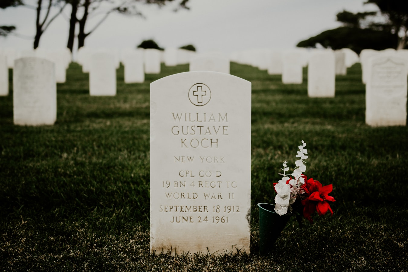 Entretenir la tombe d'un proche ou d'un parent